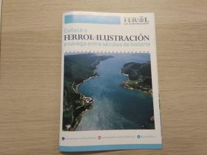 Folleto Ferrol da Ilustración